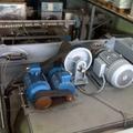 Vista dall'alto lavatrice industriale