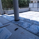 in lavorazione impermeabilizzazione terrazza