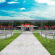 Rendering riqualificazione parco pubblico Milano