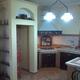 vano frigo realizzato in muratura