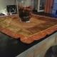 Tavolo con mattonella
