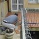 Terraza esterna in cotto