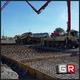 Getto pavimentazione in cemento armato