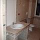 bagno vista lavandino in muratura