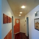 Corridoio decorato