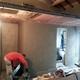 costruzione del bagno