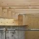 costruzione in legno e cemento armato