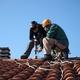 installazzione attacco sul colmo tetto