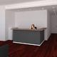 Progetto di ristrutturazione d'interni di un ufficio a via Taranto (Roma)