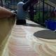 Lavaggio scale in cotto