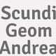Logo Scundi Geom Andrea_48717