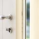 Portoncino ingresso - Dettaglio maniglia e sistema sicurezza