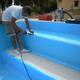 POSA DEL RIVESTIMENTO IN PVC armato spessore 1,5mm