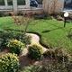 Realizzazione giardino con aiuole
