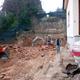 scavo su roccia x costruzione garage