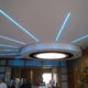 sole in cartongesso con led