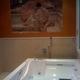 Vasca idromassaggio a 2 posti con ozonizzatore,cromoterapia