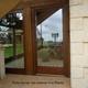 Veranda vista laterale