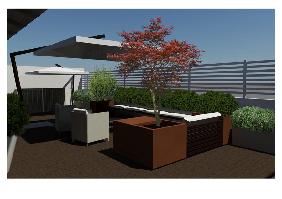 Stunning Progettazione Terrazzo Contemporary - Idee Arredamento Casa ...