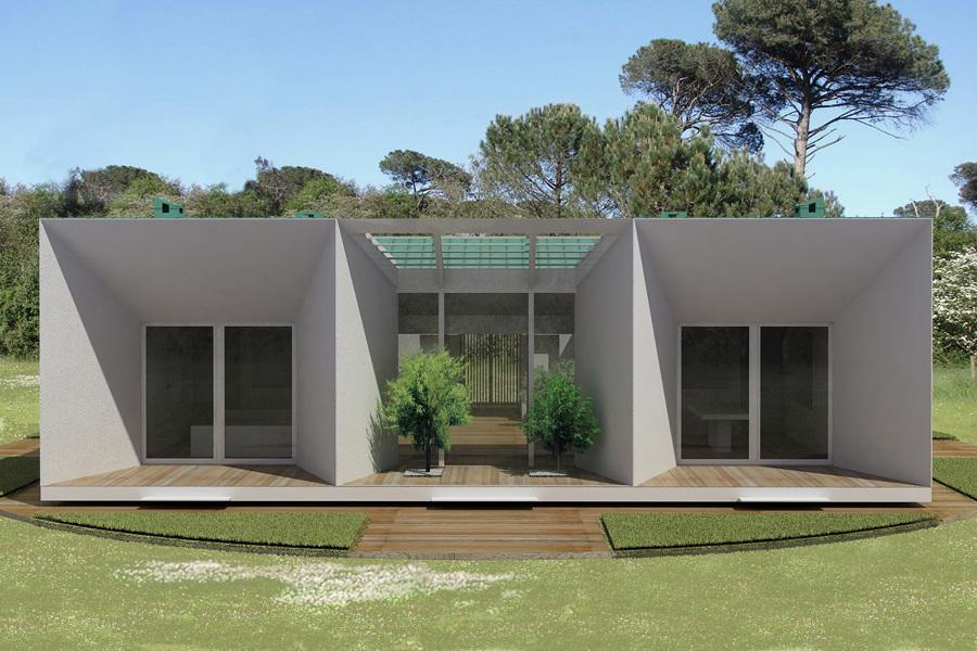 Foto la casa mediterranea sostenibile di jfd juri for Moderni piani di casa mediterranea