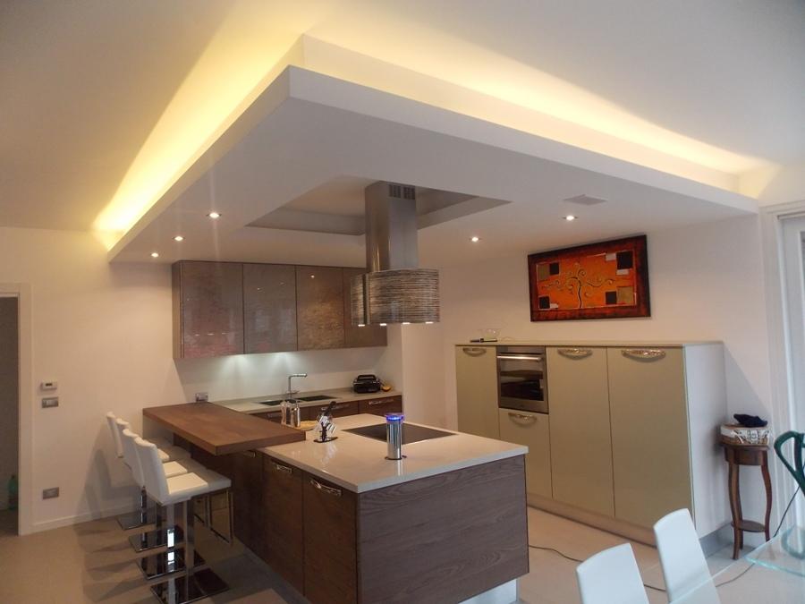 Foto controsoffitti in cartongesso cucina de impreservice - Cartongesso per cucine moderne ...