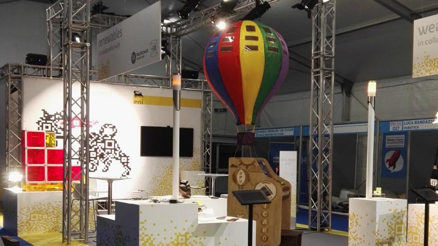 Stand ENI Maker Fair