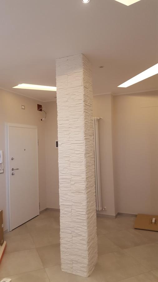 Rivestimento colonne in pietra