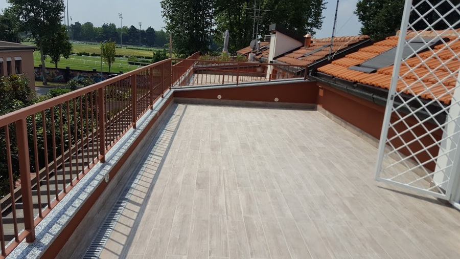 Creazione terrazzo