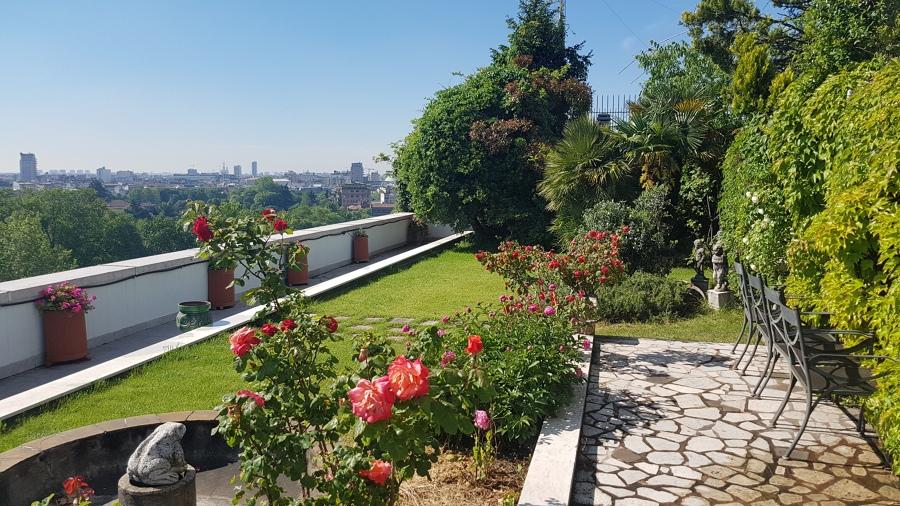 Foto: Terrazzo Pensile di LE JARDIN di Leone Andrea Origgio #558465 ...