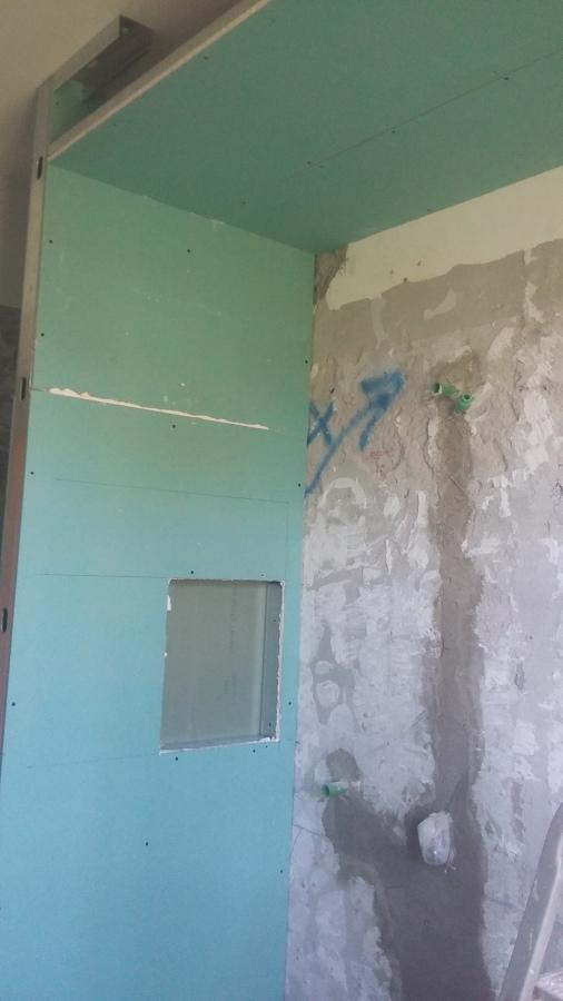 Foto parete doccia cartongesso con nicchia per bagno schiuma di edilk 528654 habitissimo - Cartongesso per bagno ...