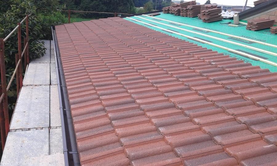 Isolamento e copertura tetto