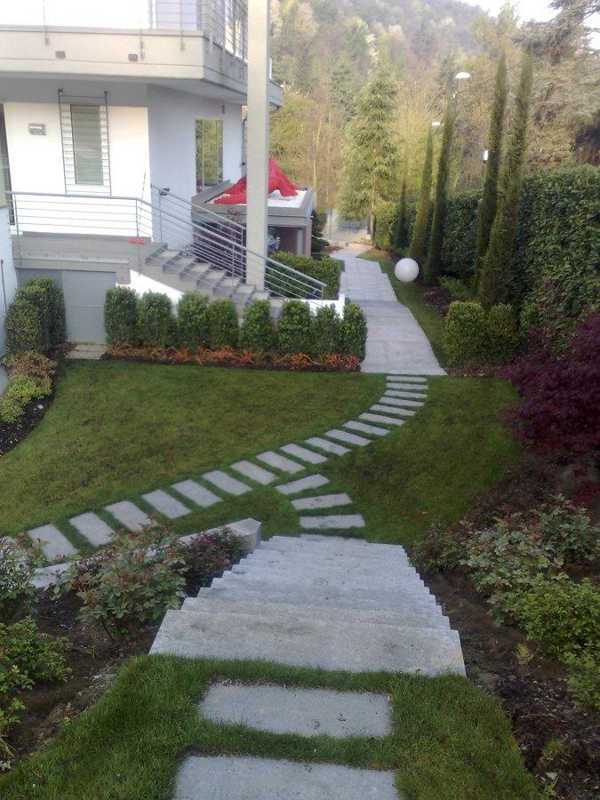 Foto sistemazione giardino de architettura e impresa - Sistemazione giardino ...