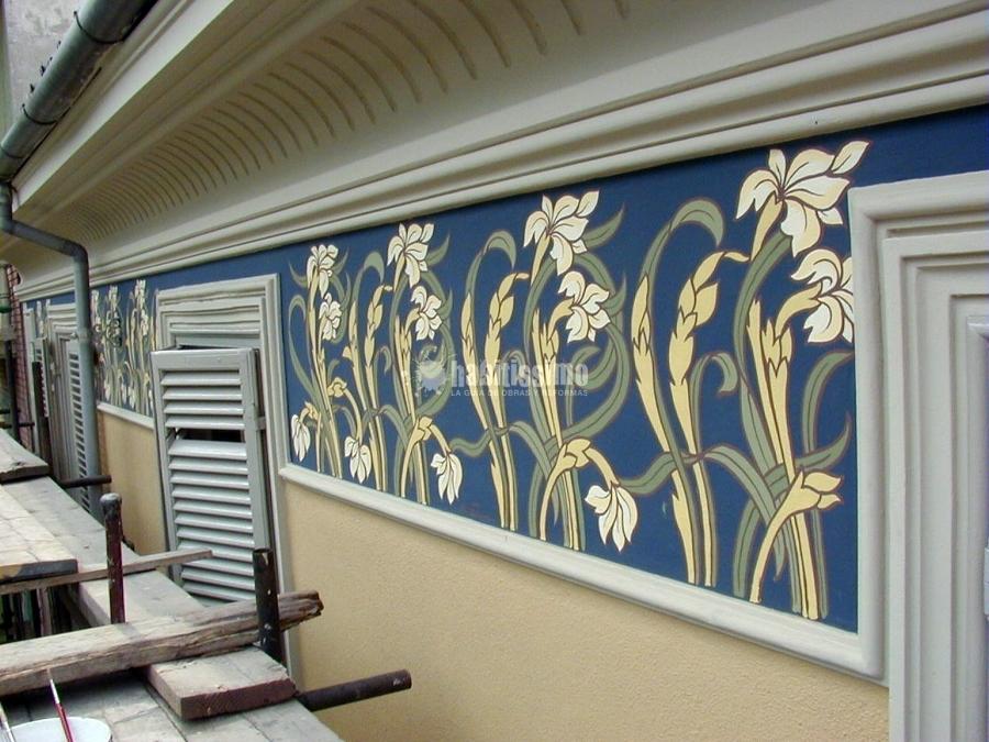 Decoratori, Pittura, Decorazione