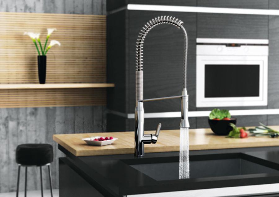 foto: rubinetti per lavello cucina di casa in srl #355599 ... - Rubinetti Per Lavello Cucina