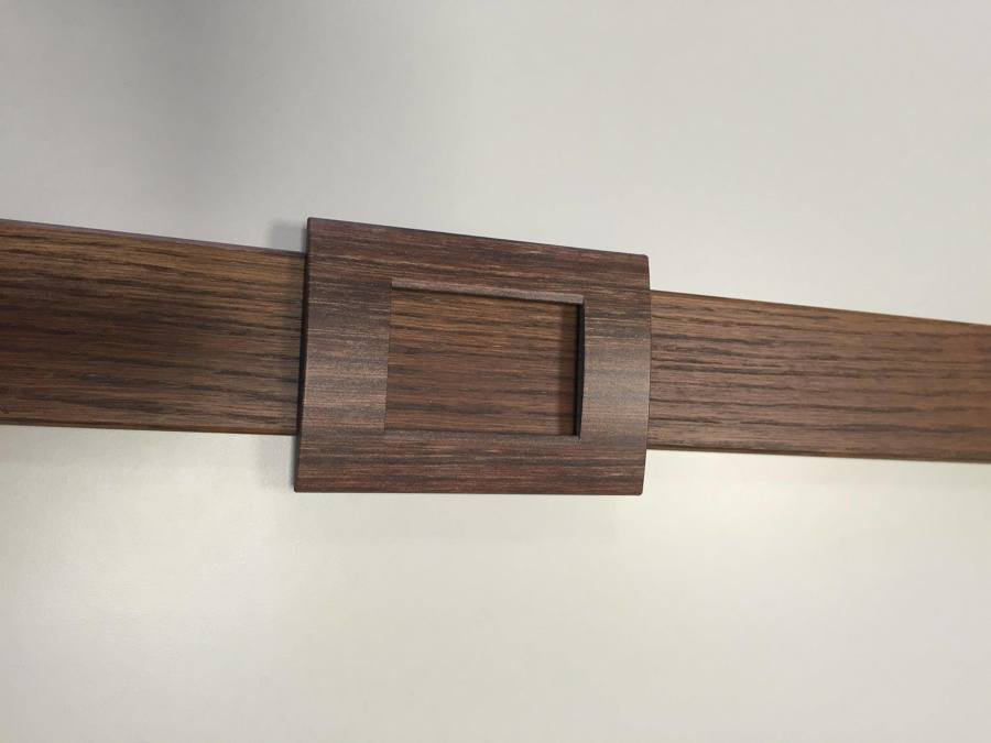 Placche interruttori personalizzate - effetto legno