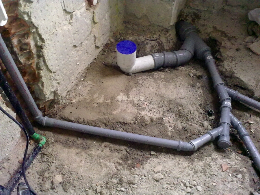 Foto scarichi bagno di idrosistema 16278 habitissimo - Scarichi bagno pendenze ...