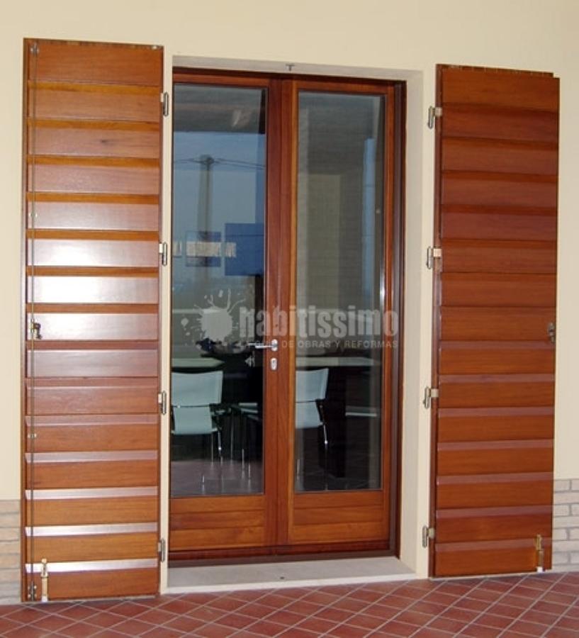 Foto falegnami finestre in legno zanzariere di - Foto finestre in legno ...