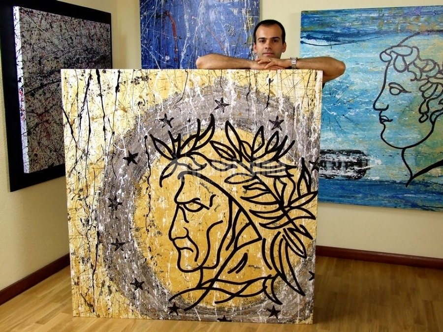 foto articoli decorazione decorazione quadri tela di