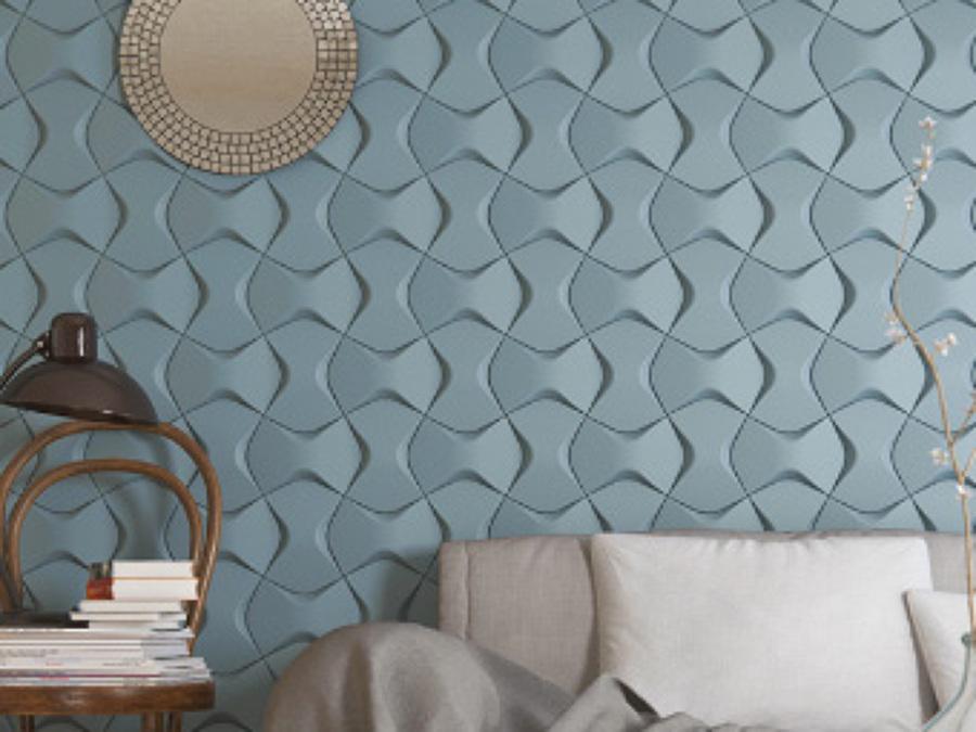 rivestimento parete colorata