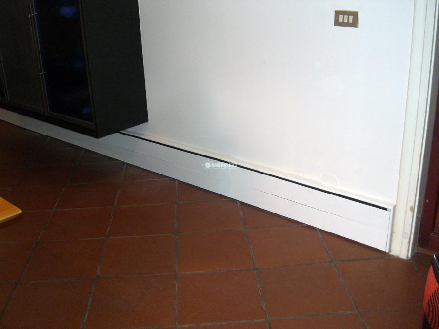 Foto riscaldamento a battiscopa opere in cartongesso for Riscaldamento battiscopa