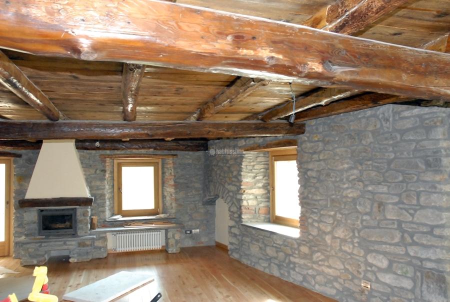Foto costruzione case pietra ristrutturazione condomini for Case in legno e pietra