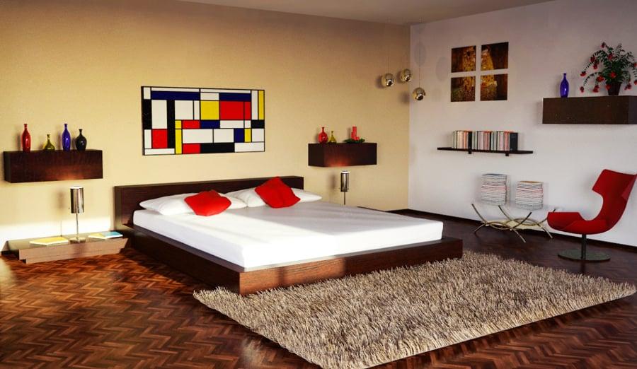 progetto interior design B&B