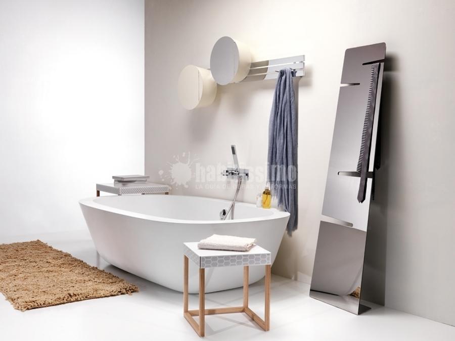 Foto arredo bagno mattonelle rivestimenti di ex t for Arredo bagno mattonelle