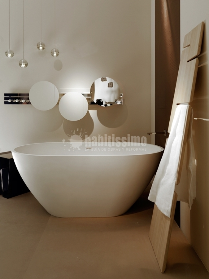 Foto arredo bagno articoli decorazione rubinetterie di ex t milano 2361 habitissimo - Decorazione bagno ...
