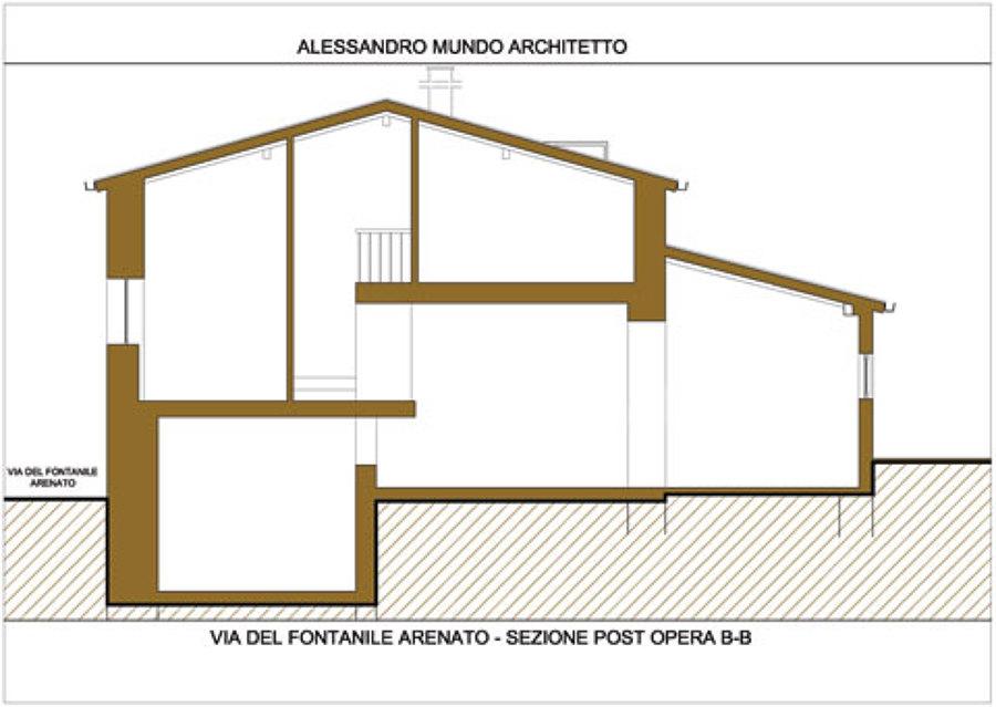 Progetto di una casa a due piani progetto casa progetto for Piani di casa in stile francese