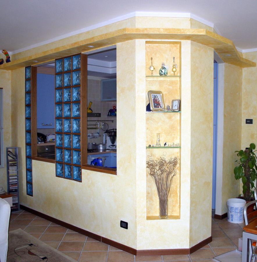 Foto abitazione privata di idea arredo s r l 66551 habitissimo - Finestra in vetrocemento ...
