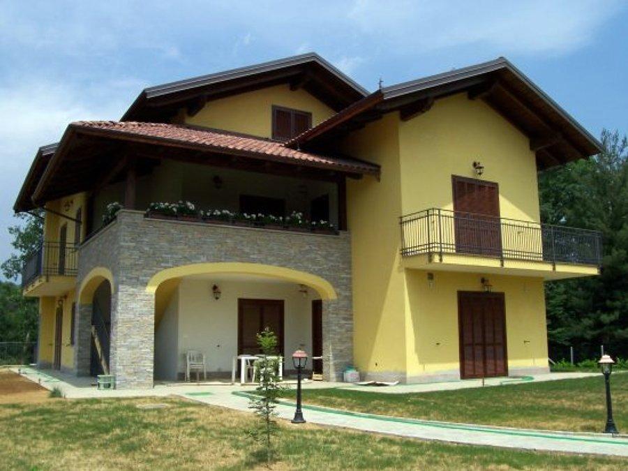 Foto abitazione unifamiliare di geom corrado di for Case prefabbricate muratura