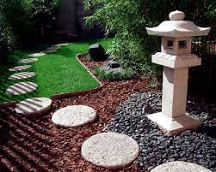 Giardini Moderni Con Sassi : Aiuole con sassi bianchi piccole aiuole con sassi come fare un