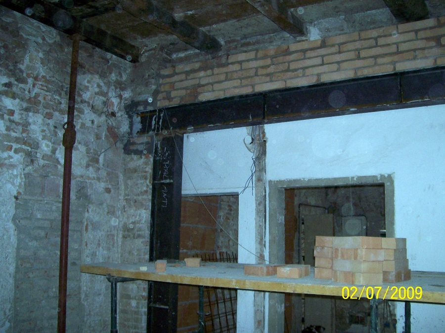 Foto apertura muro portante di oreste s r l s 103420 - Tracce su muri portanti ...