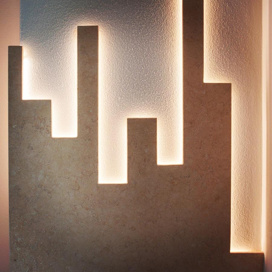 Foto applique design artigianale su colonna di caon nuovi - Applique di design ...
